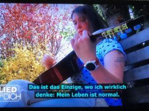 """Sarina Thien singt im ZDF bei """" Mein Lied für Dich"""" 23.10.2019"""