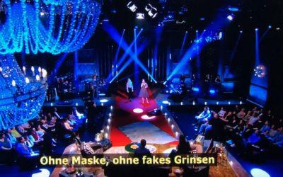 Sarina Thien singt im ZDF bei